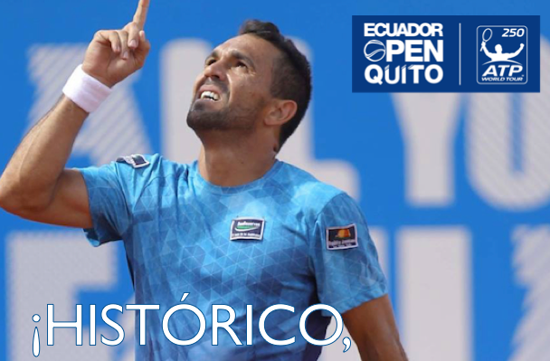 Victor Estrella Burgos escreve o seu nome na história do ténis