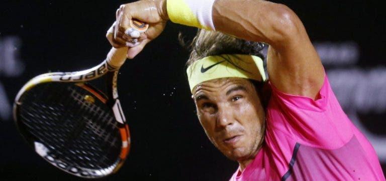 Nadal critica arbitragem e diz adeus no Rio Open