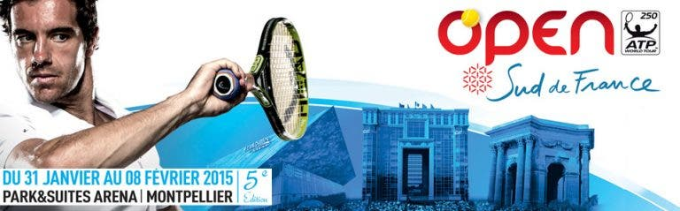 Final de Montpellier terá tenista francês