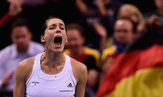 Andrea Petkovic salva 8 match points e avança em Antuérpia