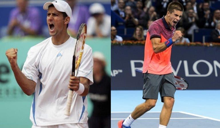 Djokovic: «Coric faz-me lembrar a mim quando era mais novo»