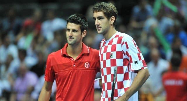 Djokovic e Cilic jogam pares juntos no ATP 500 do Dubai