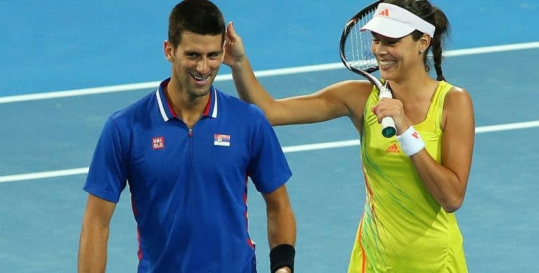 Ana Ivanovic elogia amigo Djokovic e diz que a 'crise' começou… com um grande título