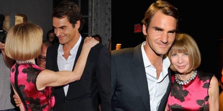 Anna Wintour: «Faltei a desfiles de moda só para ver o Federer jogar»