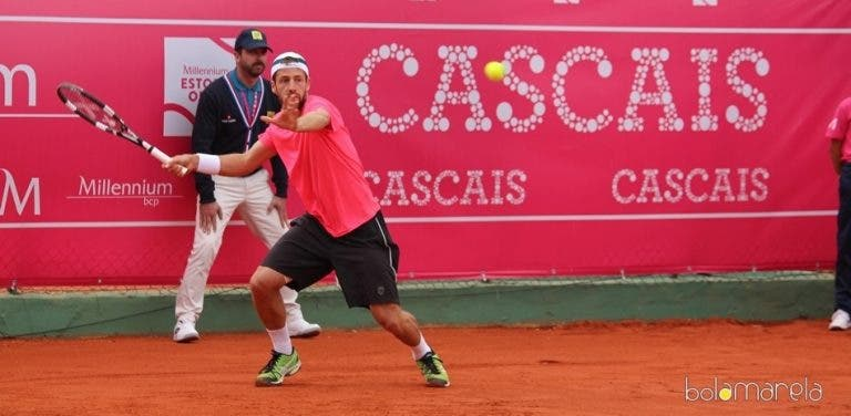 Lisboa Belém Open. Gonçalo Falcão junta-se a Gil e Cação na 2.ª ronda do qualifying