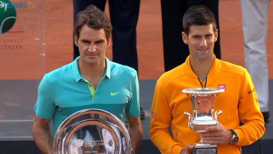 Djokovic renova estatuto de Imperador de Roma