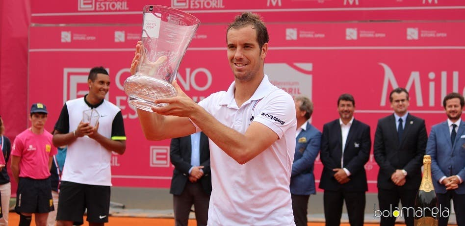 Gasquet campeão do Millennium Estoril Open 2015