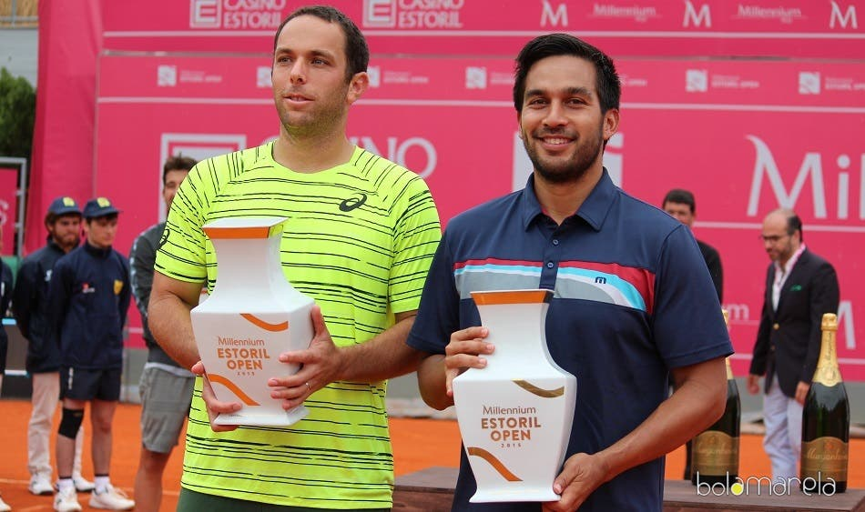 Lipsky e Huey campeões de pares no Estoril Open