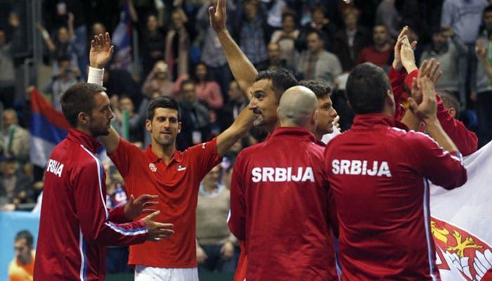 Djokovic e Raonic fora da Taça Davis