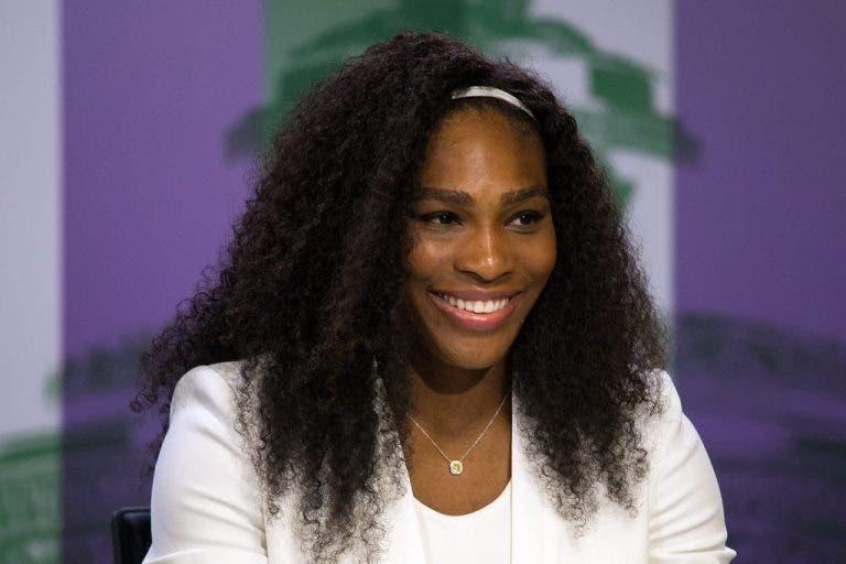 Serena: «Não posso acreditar que estou aqui com outro 'Serena Slam'»