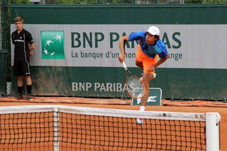 Nuno Borges na 2ª ronda em Vigo