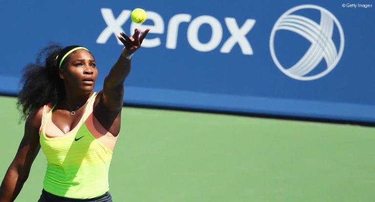 Serena escapa a Ivanovic rumo às meias em Cincinnati