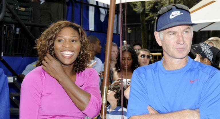 John McEnroe diz que (ainda) seria capaz de bater Serena Williams