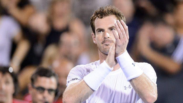 Murray faz frente a Djokovic no court e a Federer no ranking