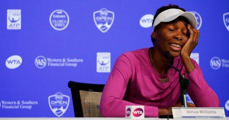 Venus Williams e Maria Sharapova desistem em Cincinnati