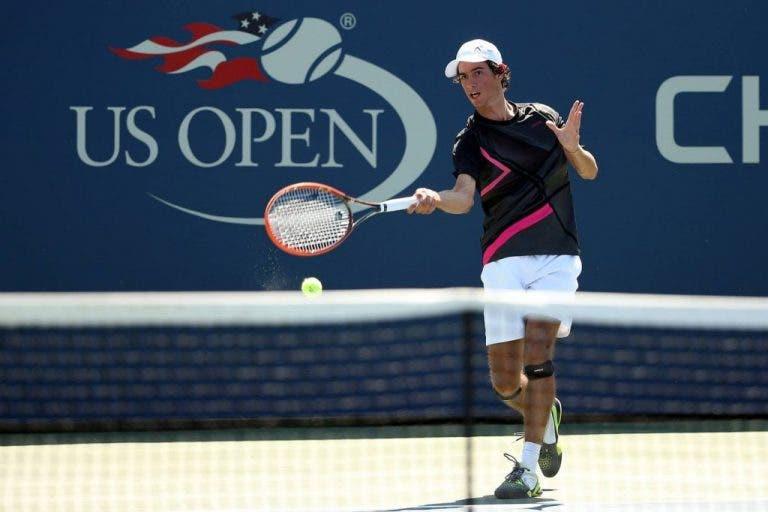 Nuno Borges eliminado em pares no US Open