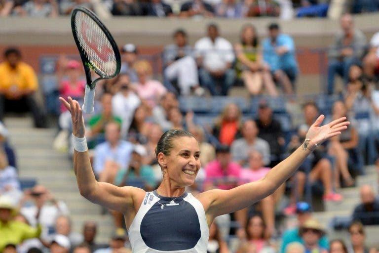 Pennetta: «O ténis feminino precisa de uma estrela após Serena e Sharapova»