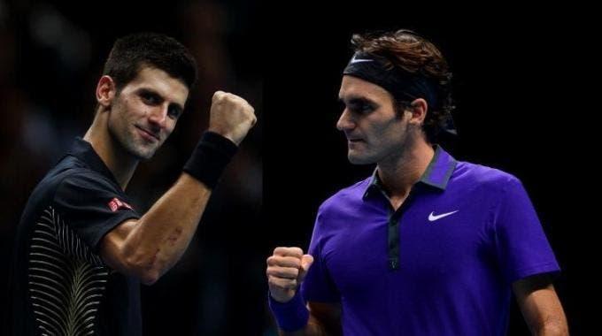 Djokovic e Federer, uma vez mais