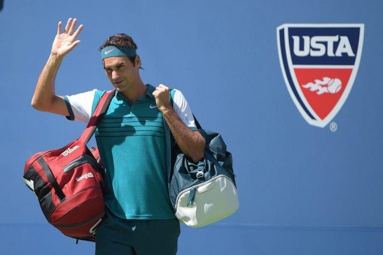 Roger Federer imbatível em Nova Iorque