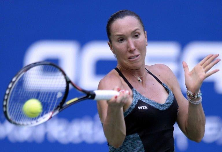 Jelena Jankovic e o 'regresso': «Parecia um miúdo numa loja de gomas»