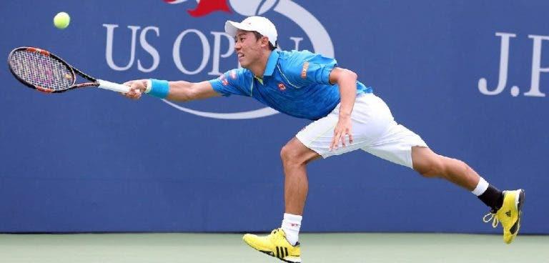 Nishikori perdeu vontade de treinar após derrota no US Open