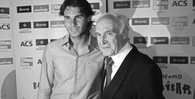 Faleceu o avô paterno de Rafael Nadal