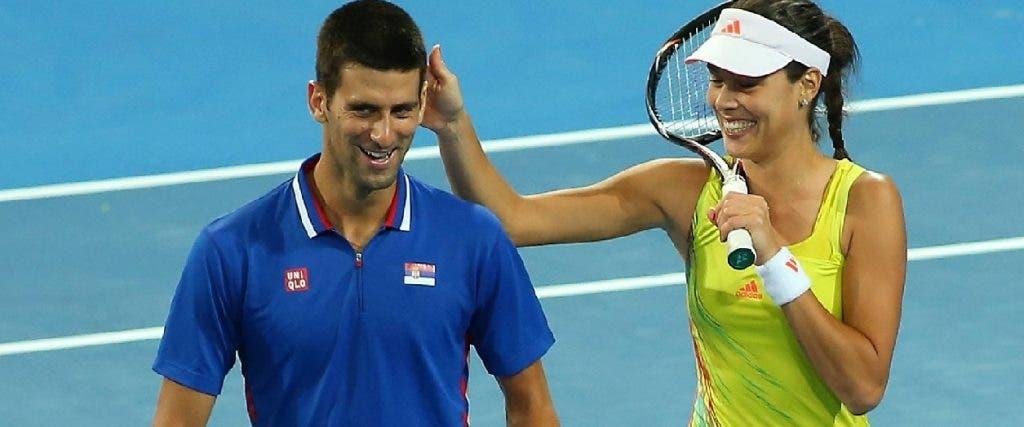 Ivanovic: «Não me esqueço de quando vi o Djokovic pela primeira vez… no recreio do colégio!»