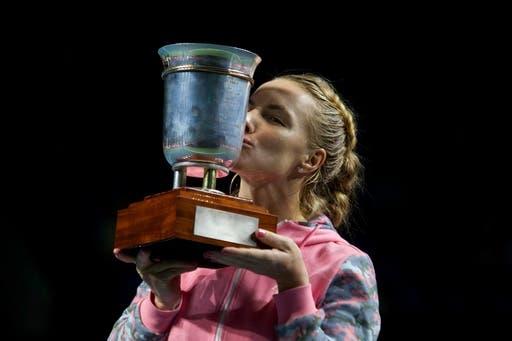 Kuznetsova regressa aos títulos WTA em Moscovo
