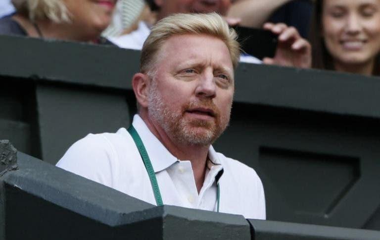 Boris Becker: «Kyrgios é o jogador mais talentoso da nova geração, é um futuro campeão»