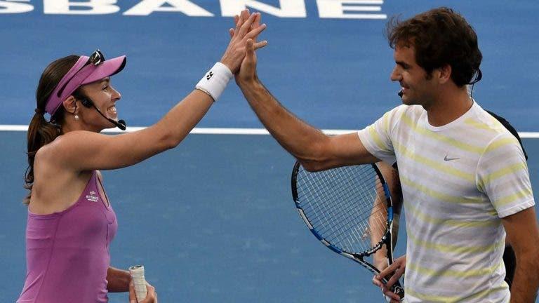 Hingis: «O Federer é que aprendeu comigo e não o contrário!»