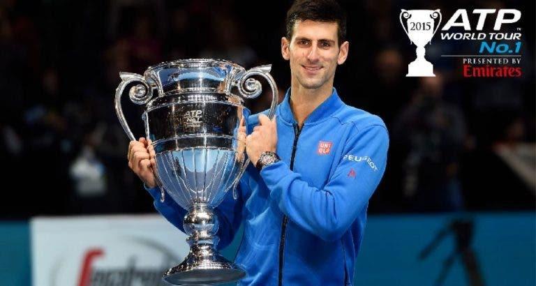 Só 10 jogadores ganharam mais na carreira do que Djokovic em 2015
