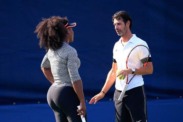 Mouratoglou: «Serena tem o mesmo problema do Rafa no joelho»