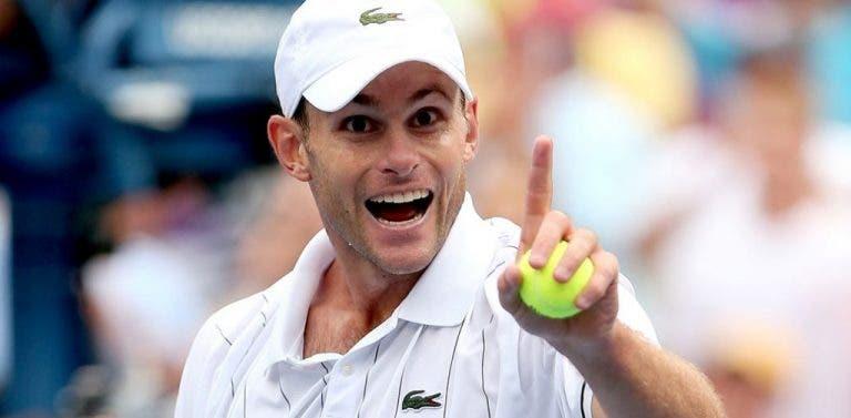 O ídolo de Andy Roddick esteve sempre ali ao lado