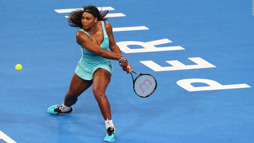 Serena Williams vai disputar o Open da Austrália segundo um dos patrocinadores do torneio
