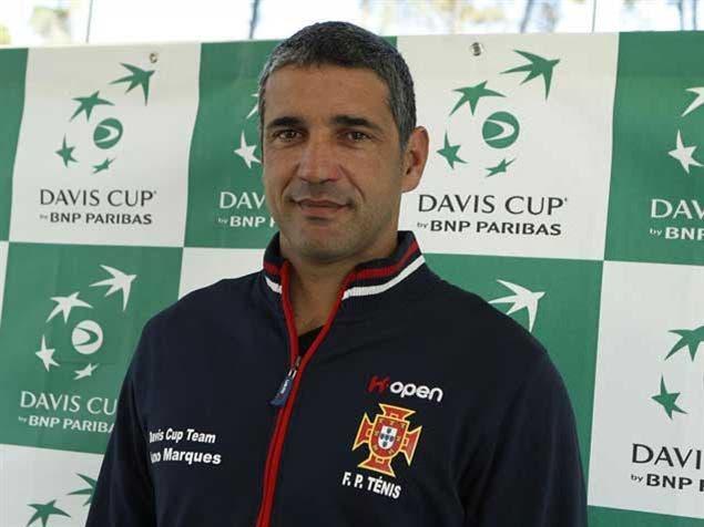 Nuno Marques apresenta uma novidade na convocatória para a Taça Davis