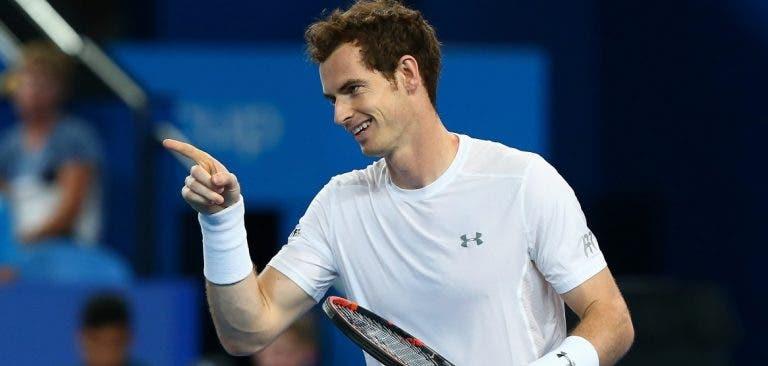 Murray é insultado e convida adepto a treiná-lo