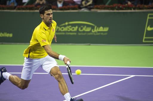 Djokovic e Nadal aceleram para os 'quartos' em dia tranquilo no Qatar
