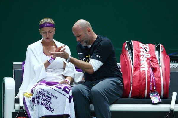 Petra Kvitova rompe com o treinador David Kotyza