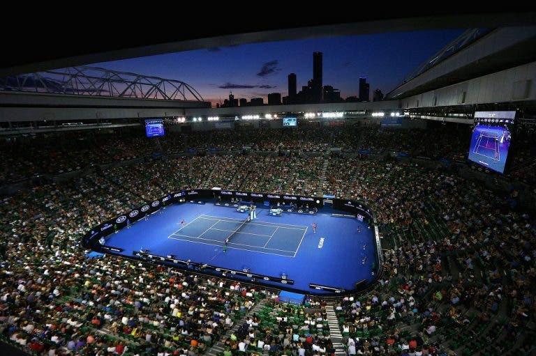 Australian Open bateu recordes de audiência em todo o Mundo