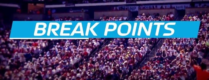[Vídeo] Quem salva mais break points com o segundo serviço no top-10?