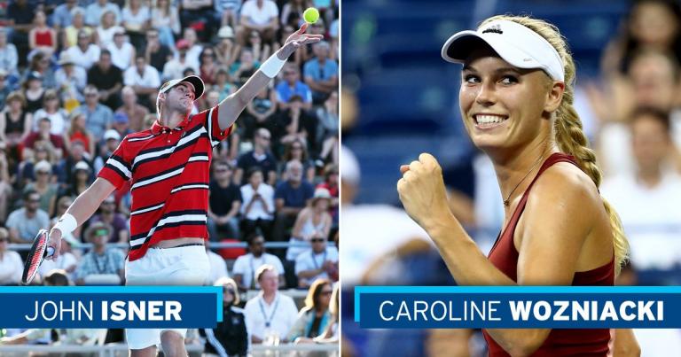 Isner e Wozniacki confirmam presença em Washington