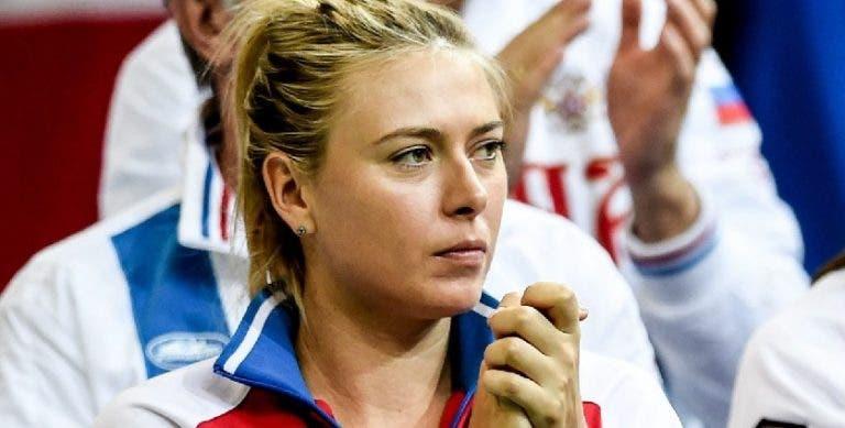 Sharapova será mesmo ouvida pela ITF e desiste de Roland Garros