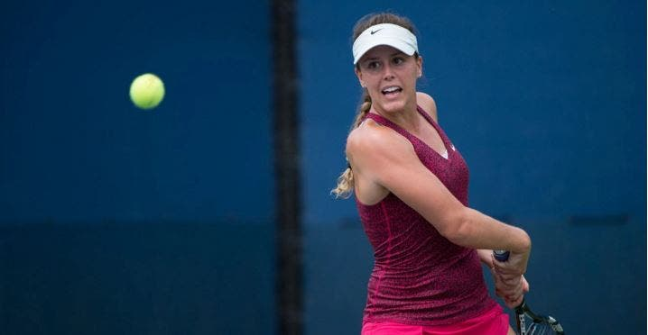 Michelle dispara 11 duplas faltas e perde com qualifier na primeira ronda em Gatineau