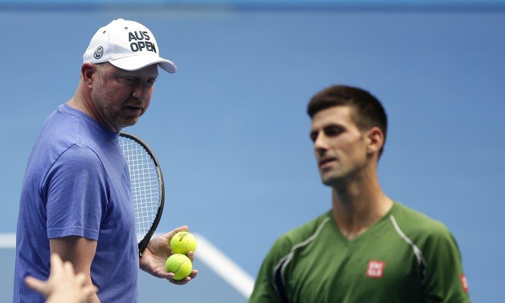 Boris Becker: «O Djokovic vai ter que se sacrificar para voltar a ser número 1»