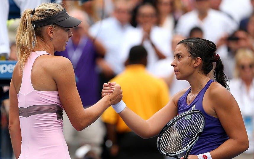 Bartoli: «Sei que a Maria Sharapova não é dopada»