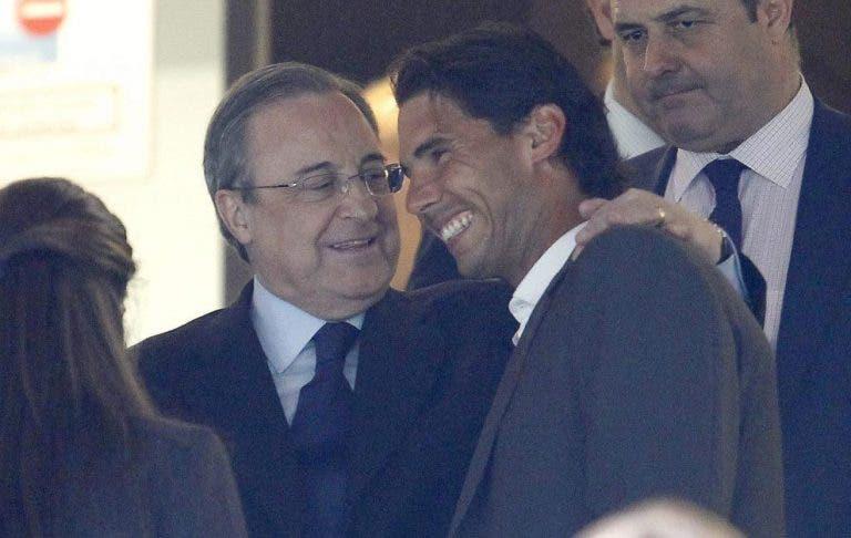 Real Madrid defende Rafael Nadal