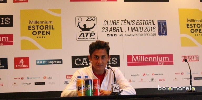 Nicolas Almagro: «É sempre difícil jogar com o melhor tenista da história do país»