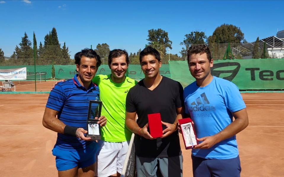 Fred Gil volta a ser feliz na Tunísia com terceiro título do ano em pares