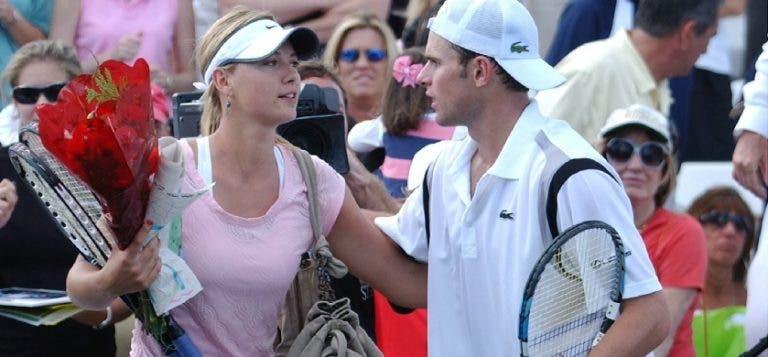 Roddick rejeita a ideia de que Maria Sharapova seja 'batoteira'