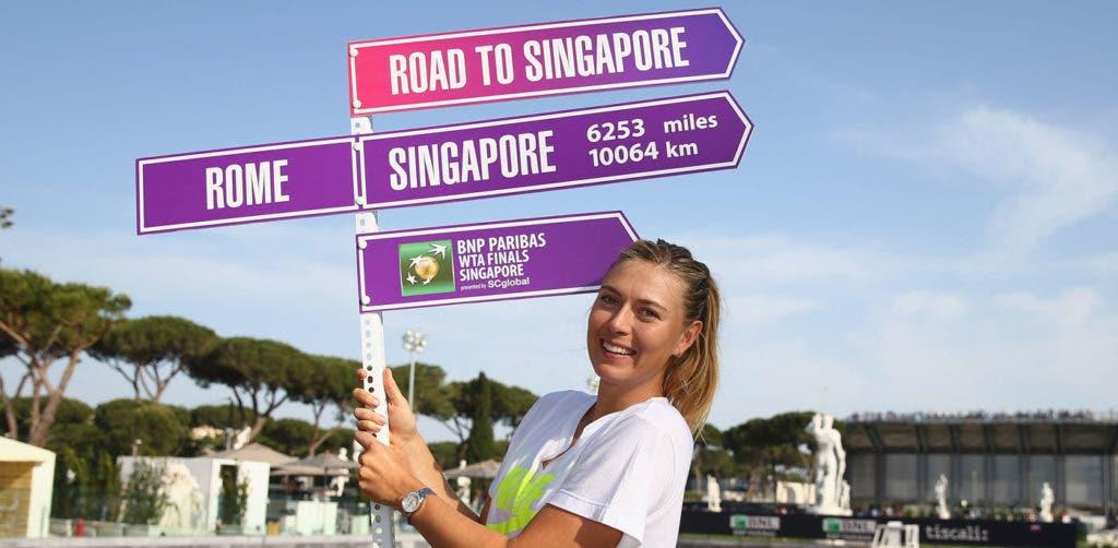 Sharapova desiste de Madrid e não se inscreve em Roma
